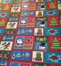 King Size Christmas Fleece w/2 Shams