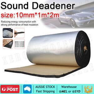 2M*1M Sound Deadener Heat Proof Insulation Noise Proofing Foam Car Auto Shield