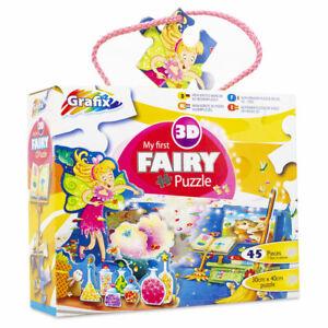 Grafix My First 3D Fairy Puzzle 45 Pieces 30cm x 40cm