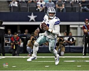 "Dak Prescott Dallas Cowboys Unsigned Scramble 11"" x 14"" Photo - Fanatics"