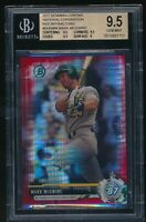 2017 Bowman Chrome National Convention Refractors Red	Mark McGwire BGS 9.5 /10