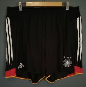 ADIDAS MEN'S GERMANY 2003/2004 DEUTSCHER SHORTS FOOTBALL SOCCER SIZE 2XL XXL