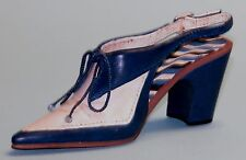 "Just the Right Shoe, Raine, ""Beau Tie"" mixed media, miniature #25365 Coa/Nib"