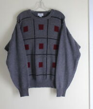 Men's NEIMAN MARCUS- Sz XL Plush 100% Cashmere Heavy Scottish Cashmere Sweater