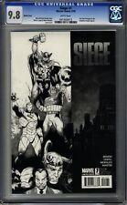 Siege (2010 Series) #1 CGC 9.8 Copiel Sketch Variant