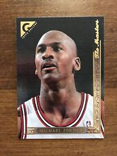 Michael Jordan 1995-96 Topps Gallery The Masters #10 Chicago Bulls HOF