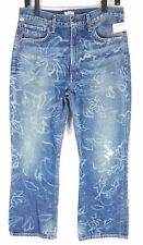 NEW Citizens of Humanity Women's Estella High Rise Ankle Flare Floral Jeans 30