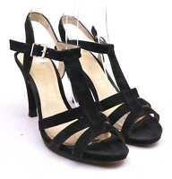 Unisa Womens EU Size 40 Black Leather Sandals