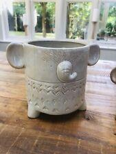 Porcelain Elephant Planter Flower Pot Stand - Parlane - 2 Sizes