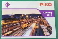 PIKO Katalog 2019 Modelleisenbahn Eisenbahn Wagon Spur TT  B-13475