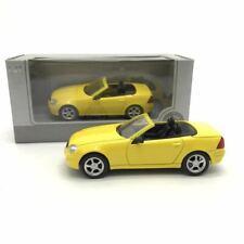 1/43 Mercedes SLK320 yellow alloy car model gift collection