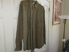 Nautica , Size L/G , Men's Long Sleeve Shirt  , 100% Cotton