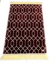 1200+grm thick soft Islamic Prayer Mat.jannamaz.musalla.High Quality.Saudi Arab