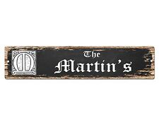 SP0454 The MARTIN'S Family name Plate Sign Bar Store Cafe Home Chic Decor