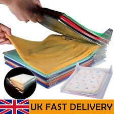 Adult Magic Fold T Shirt Laundry Folding Board Clothes Organiser Tidy Fast Flip