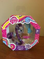 BNIB My Little Pony Cutie Mark Magic Water Glitter  Rarity Figure G4 FIM