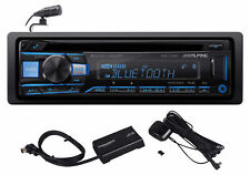 Alpine Cde-172Bt In-Dash Bluetooth Cd Receiver Car Stereo Usb/Aux+SiriusXm Tuner