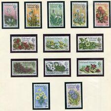FALKLAND ISLANDS  197 - 209  Beautiful Mint  NEVER  Hinged  Set  FLORA  AG