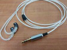 1.2Meter Cable UE TF10 SF3 SF5 5EB 5pro Upgrade Wire Gold 3.5MM OCC Silver