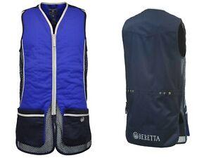 Beretta Silver Pigeon Mens Shooting Vest. Blue Navy. Size Large