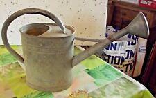 Antique Arrosoir Zinc Jardin Potager Fleurs Arrosage Vintage Old watering can