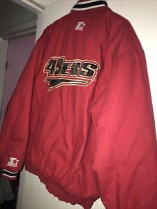Vintage SF 49er's 90s Bomber Varsity Starter Jacket Men Xl Big Logo Team