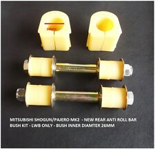 New Rear Anti Roll Bar Bush Kit For Pajero / Shogun MK2 - 2.5TD / 2.8TD - L/W/B