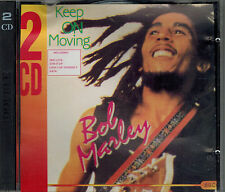 2 CD Bob Marley Keep on Moving,Sehr gut, Tracklist 2. Foto,Succes