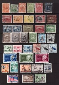Haiti used stamps selection