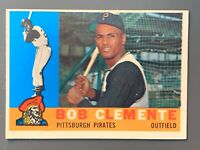 1960 Topps #326 Roberto Clemente EXMT Pittsburgh Pirates HOF