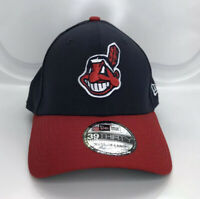 New Era Cleveland Indians 39THIRTY Stretch Fit Hat Chief Wahoo Adult Size M/L