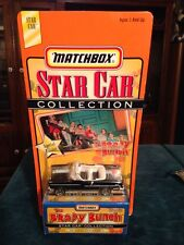 Brady Bunch 1955 Chevy Convertible Matchbox Car Star Car LE TV Show Vehicle