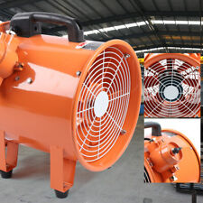"""110V 12"""" Tube Axial Fan- 1/2 Hp- 1 Phase- 2,191 Cfm - Ventilator Explosion Proof"""