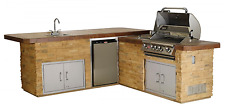 Bull Gourmet Q - Outdoor Island Kitchen #31021 EXACTLY AS PICTURED