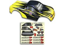 Redcat Racing 1/10 Scale Truck Body Black & Yellow  w/ Decal Sheet Part 25188-3