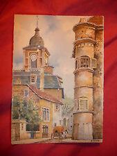 CPA  BARDAY SAINT DIE RUE des JOINTURES et CATHEDRALE carte postale OLD POSTCARD