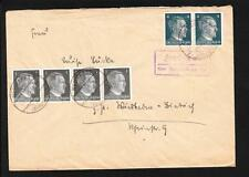 Germany WWII Hitler Head Violet Fordheim CDS Neumarkt Postally Used Cover ZB