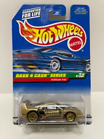 1998 HOT WHEELS FERRARI F40 DASH 4 CASH SERIES #722 GOLD VHTF