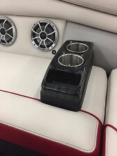 Portable Cup Holders (Greywood Black) Pontoon RV Boat BUYCUPHOLDERS.COM