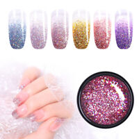 UR SUGAR 7ml Platinum Gellack Shining Holographisch Gel Soak Off Nail Art Gel