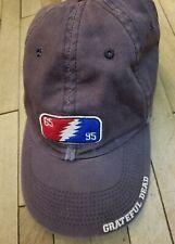 GRATEFUL DEAD Cap 65 95 1995 Jerry garcia adjustable strap denim Liquid Blue hat