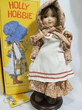 HOLLY HOBBIE FALL Gorham Porcelain Doll 1984 Four Seasons Series HH11