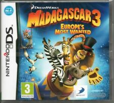 Madagascar 3 Europe's Most Wanted Nintendo NDS DS Lite DSi XL Brand New
