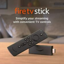 Amazon Fire TV Stick (2020) with Alexa Voice Remote, streaming media player– New