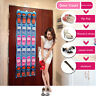 24 Pockets Clear Over Door Home Hanging Bag Shoe Rack Hanger Organizer Storage