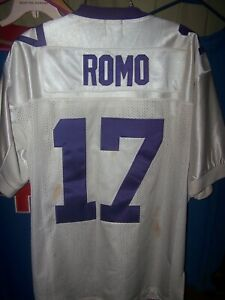 TONY ROMO EASTERN ILLINOIS PANTHERS JERSEY- SIZE 48- PRE-OWNED-DALLAS COWBOYS