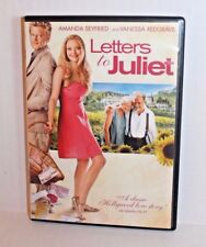 Letters to Juliet (DVD, 2010) Amanda Seyfried & Vanessa Redgrave