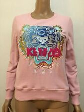 KENZO TIGER EMBROIDERED PULLOVER SHIRT