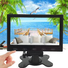 "Mini 7"" LCD CCTV Monitor HD PC Screen HDMI VGA AV RCA 1080p for Raspberry PI"