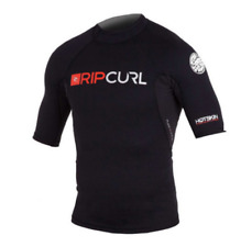 RIP CURL HOTSKIN 0.5MM Short Sleeve JACKET size S Thermal RashVest top neoprene
